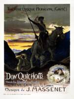 Vintage French Jules Massenet's Don Quichotte