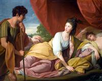 Benjamin West Cymon and Iphigenia