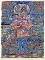 Paul Klee Boy in Fancy Dress