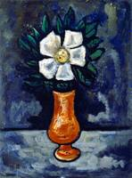 Marsden Hartley White Flower