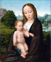 Simon Bening Virgin and Child