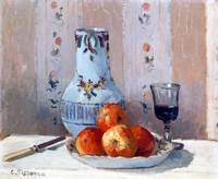 Camille Pissarro Still Life with Apples
