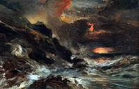 Eugène Isabey A Storm off the Normandy Coast