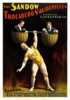 Vintage The Sandow Trocadero Vaudevilles Lifting