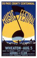 Du Page County Centennial Music Festival WPA