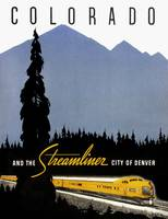 Vintage Denver Colorado Railroad Travel