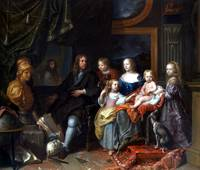 Charles Le Brun Everhard Jabach and His Family