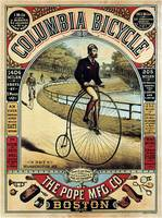 Vintage Columbia Bicycle Advertisement