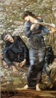 Edward Burne-Jones Beguiling of Merlin
