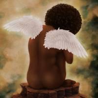 Angel Art Prints & Posters by Shakira Rivers