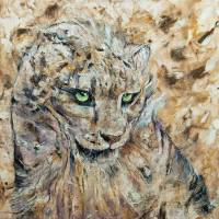 Cinnamon Leopard Art Prints & Posters by Michael Creese