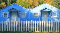 Blue Twins in Millville, New Jersey