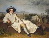 Goethe in the Roman Campagna, by Johann Heinrich W