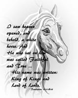 White Horse of a King