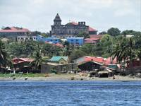 Taal Basilica from the sea
