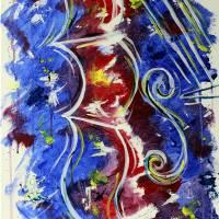 Violin Art Prints & Posters by Jen Wallace