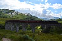 Jacobite Train on Viaduct
