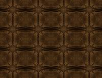 brown pattern mirror effect