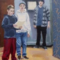 """""""The Fabians and Sir Toby"""" by ginniechase"""
