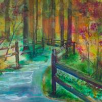 """""""Willamette Stone Path"""" by DianaNadalFineArt"""