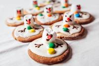 Melted snowmans traditional Christmas cookies