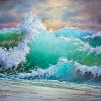 """""""storm waves"""" by KrisLeov"""