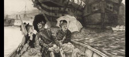 JAMES JACQUES JOSEPH TISSOT (1836-1902) Entre les