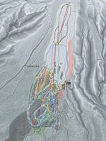 Timberline Resort Trail Map