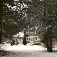 Winter Cottage Art Prints & Posters by Gordon Beck
