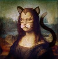Mona Lisa was a Cat