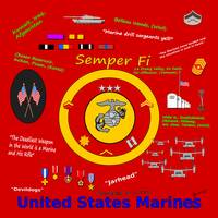 Saluting the United States Marines