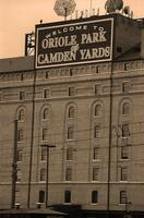 Baltimore Orioles Park at Camden Yards Sepia #2