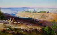 Jerusalem from the Mount of Olives by Edward Lear,