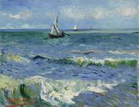 Seascape near Les Saintes-Maries-de-la-Mer Arles,