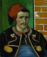 The Zouave Arles, June 1888 Vincent van Gogh (1853