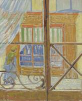 View of a Butcher's Shop Arles, February 1888 Vinc