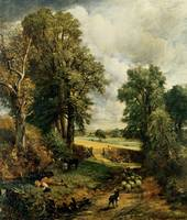 JOHN CONSTABLE, THE CORNFIELD