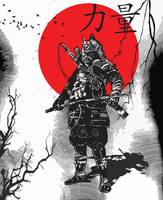 Samurai Art Framed Print