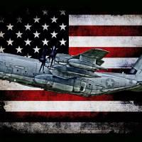 """APS C-130 VMGR-352 924 HORIZ BLACK"" by corpsgraphics"