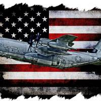 """""""APS C-130 VMGR-352 924 HORIZ WHITE"""" by corpsgraphics"""