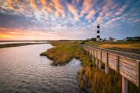 Bodie Island Lighthouse Outer Banks North Carolina