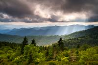 North Carolina Blue Ridge Parkway Scenic Mountain