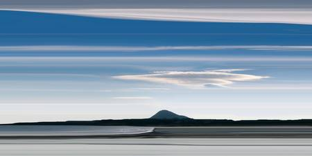 north berwick law from yellowcraigs