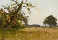 LECOMTE, PAUL Paris 1842 - 1920 Vast Summery Field
