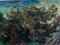 LOVIS CORINTH (Tapes 1858-1925 Zandvoort) Coast at