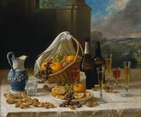 Luncheon Still Life, at and by John F. Francis