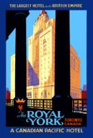 Vintage Travel Royal York Hotel Toronto Canada