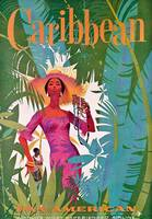 Vintage Airline Caribbean Travel