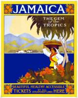 Vintage Jamaica Gem of the Tropics Travel
