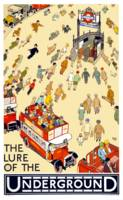 Vintage London Underground Travel